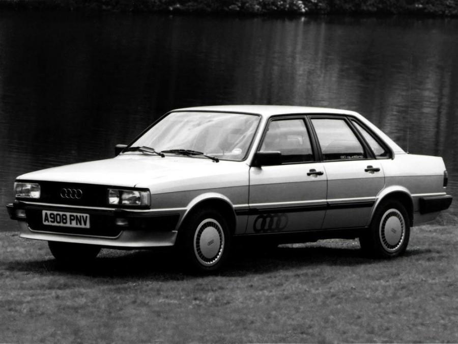 Audi 80 седан 4-дв., 1978–1986, B2, 1.6 MT (84 л.с.), характеристики