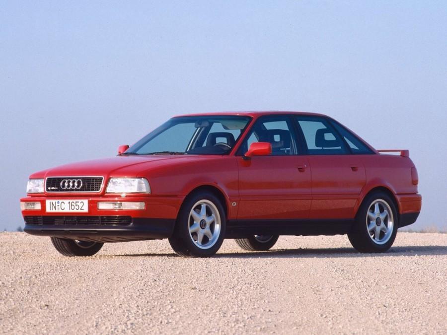 Audi 80 седан, 1991–1996, 8C/B4, 2.3 MT quattro (133 л.с.), характеристики