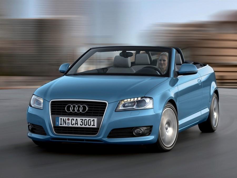 Audi A3 кабриолет, 2008–2013, 8P/8PA [2-й рестайлинг] - отзывы, фото и характеристики на Car.ru