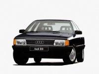 Audi 100, С3 [рестайлинг], Седан, 1988–1990
