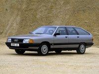 Audi 100, С3 [рестайлинг], Avant универсал, 1988–1990