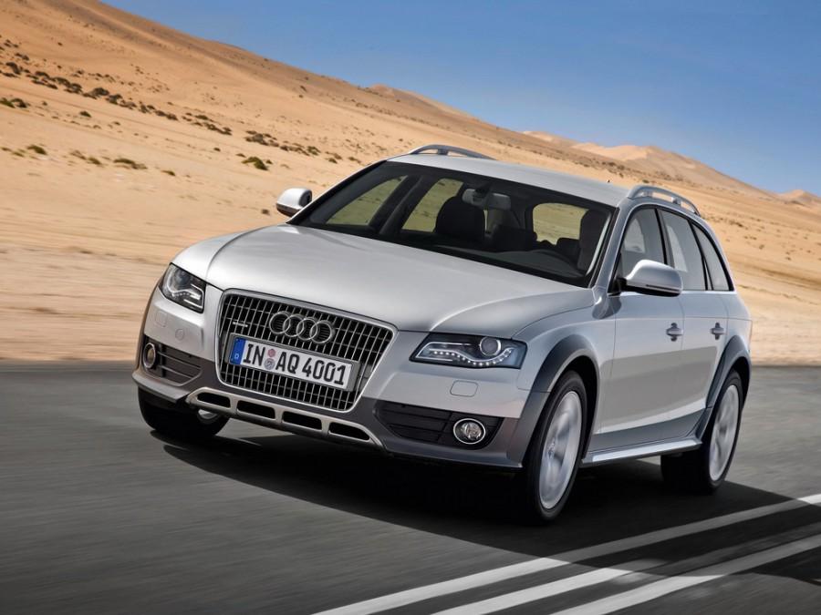 Audi A4 Allroad quattro универсал 5-дв., 2007–2011, B8/8K - отзывы, фото и характеристики на Car.ru