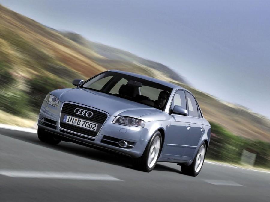 Audi A4 седан, 2004–2008, B7 - отзывы, фото и характеристики на Car.ru