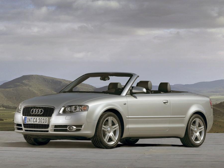 Audi A4 кабриолет, 2004–2008, B7 - отзывы, фото и характеристики на Car.ru