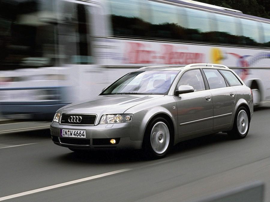 Audi A4 Avant универсал, 2000–2005, B6, 2.5 TDI MT (163 л.с.), характеристики