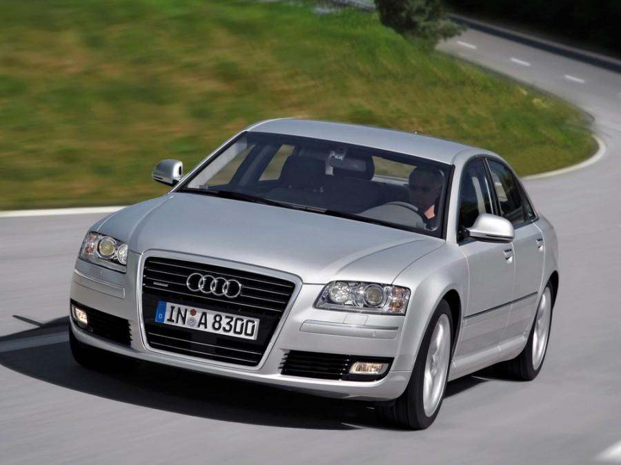 Audi A8 седан, 2007–2010, D3/4E [2-й рестайлинг] - отзывы, фото и характеристики на Car.ru
