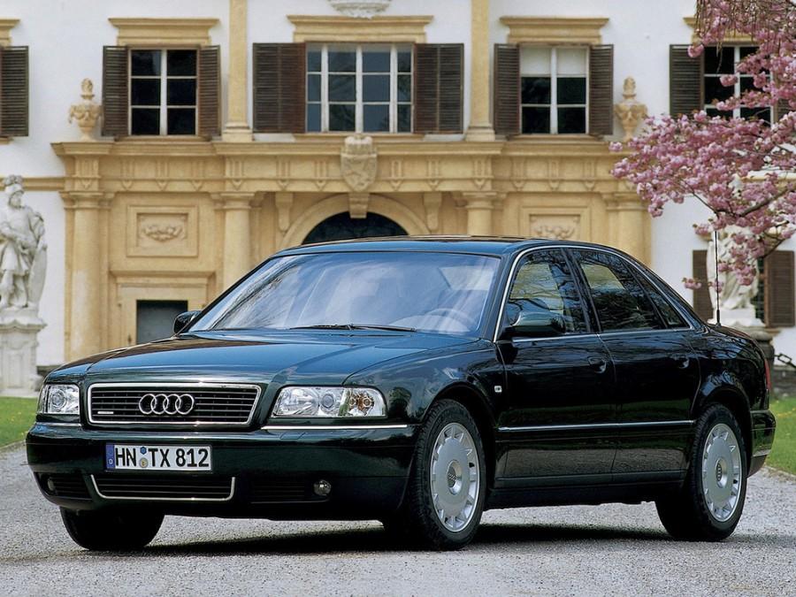 Audi A8 седан 4-дв., 1999–2002, D2/4D [рестайлинг], 3.3 TDI tiptronic quattro (225 л.с.), характеристики