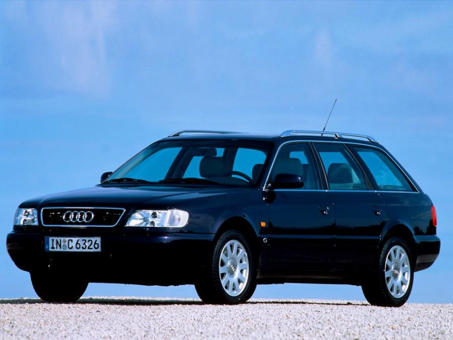 Audi A6 универсал, 1994–1997, A4/C4, 1.8 MT quattro (125 л.с.), характеристики