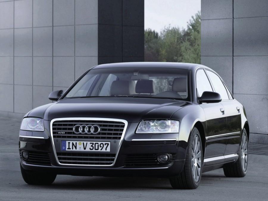 Audi A8 седан 4-дв., 2005–2007, D3/4E [рестайлинг] - отзывы, фото и характеристики на Car.ru