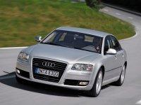 Audi A8, D3/4E [2-й рестайлинг], Седан, 2007–2010