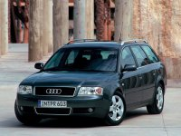 Audi A6, 4B/C5 [рестайлинг], Универсал, 2001–2004