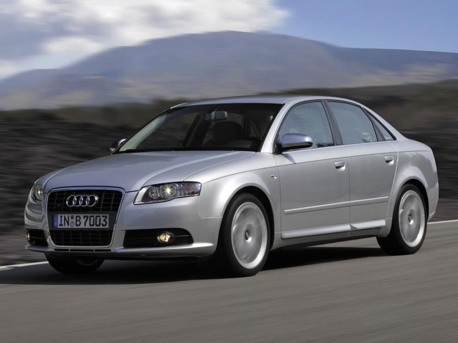 Audi S4 седан, 2005–2008, B7/8E - отзывы, фото и характеристики на Car.ru