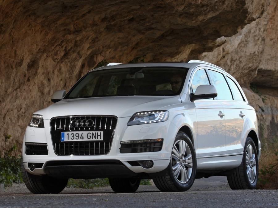 Audi Q7 кроссовер, 2008–2015, 4L [рестайлинг] - отзывы, фото и характеристики на Car.ru