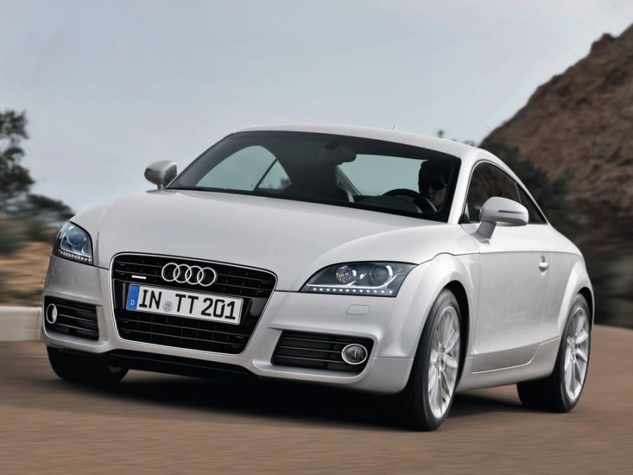 Audi TT купе 2-дв., 2010–2014, 8J [рестайлинг], 2.0 TFSI MT (211 л.с.), Базовая, характеристики