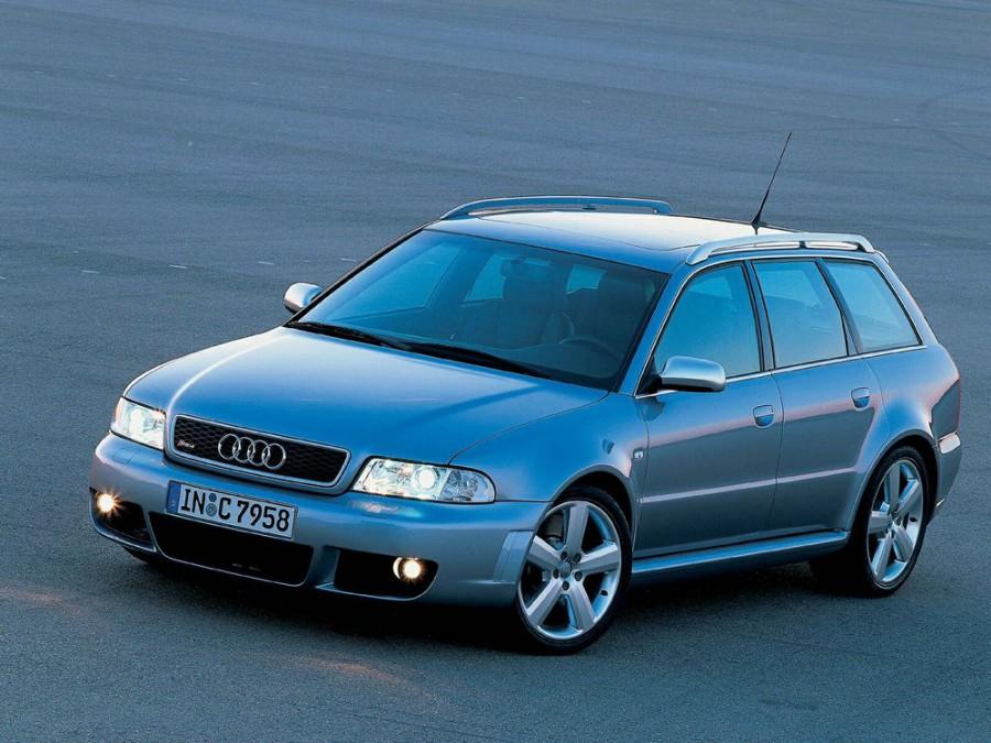 Audi RS4 Avant универсал 5-дв., 2000–2001, B5, 2.7 T MT quattro (380 л.с.), характеристики