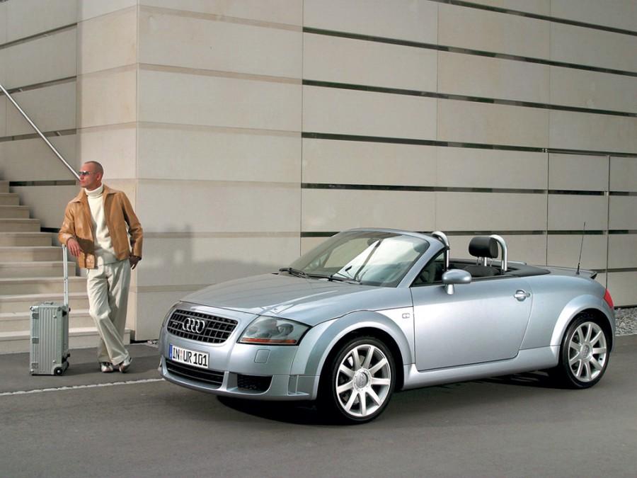 Audi TT родстер, 2002–2006, 8N [рестайлинг], 1.8 T MT (180 л.с.), характеристики