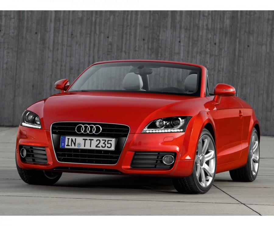 Audi TT родстер 2-дв., 2010–2014, 8J [рестайлинг] - отзывы, фото и характеристики на Car.ru