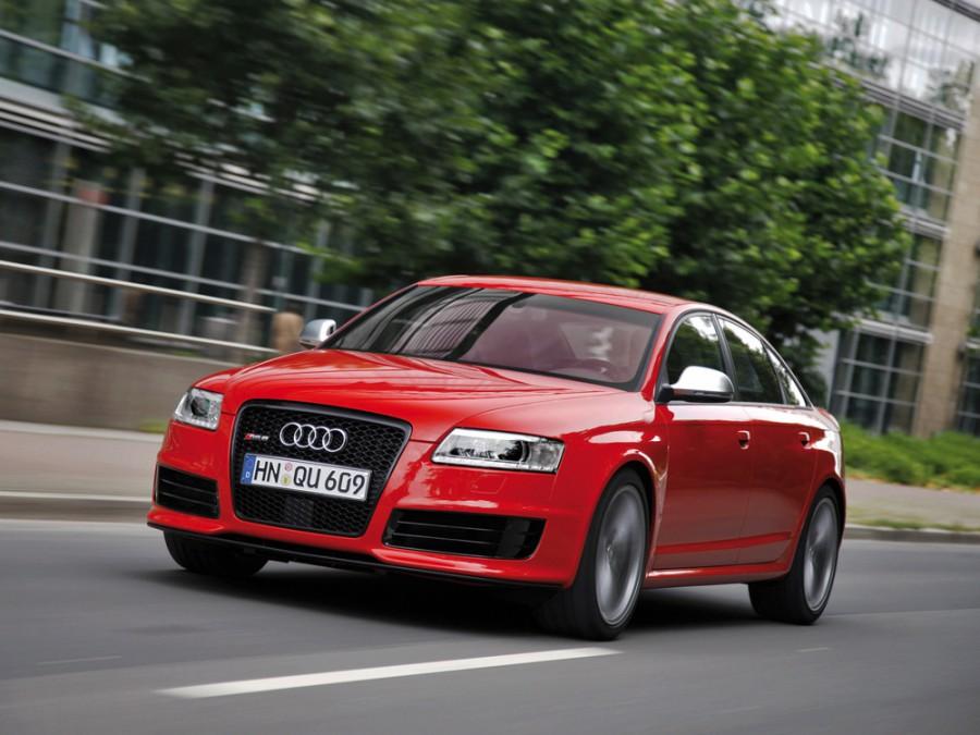 Audi RS6 седан, 2008–2010, C6 - отзывы, фото и характеристики на Car.ru