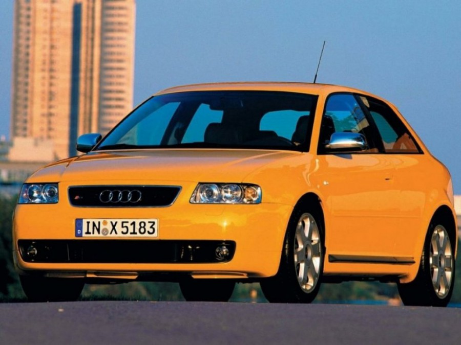 Audi S3 хетчбэк, 2001–2003, 8L [рестайлинг] - отзывы, фото и характеристики на Car.ru