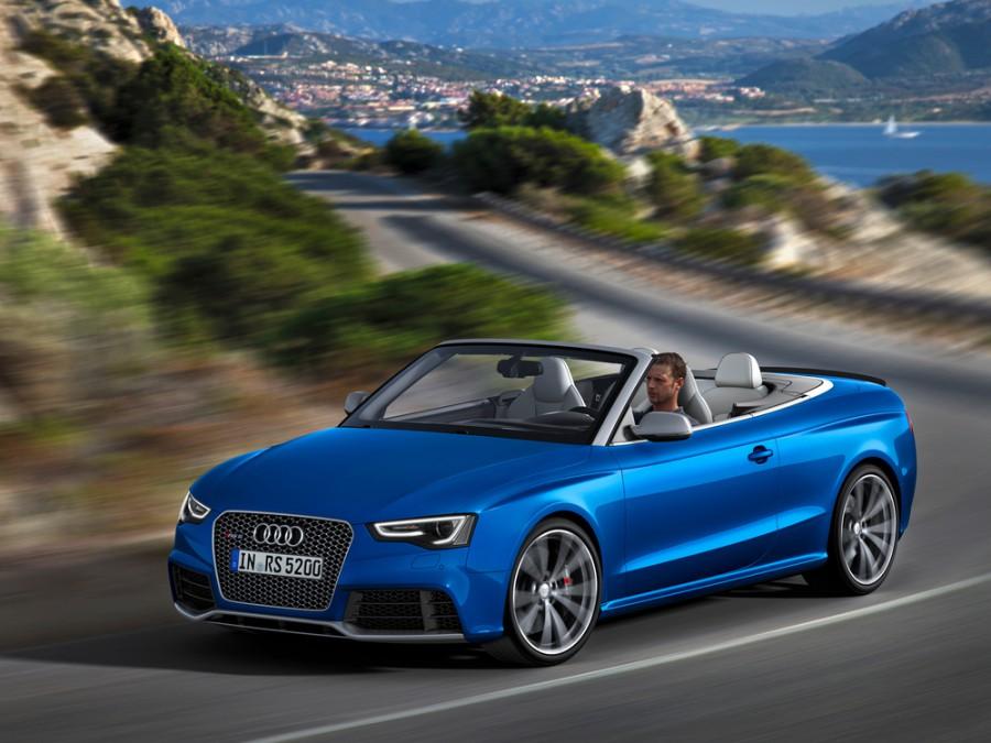 Audi RS5 кабриолет, 2012–2016, 8T [рестайлинг] - отзывы, фото и характеристики на Car.ru