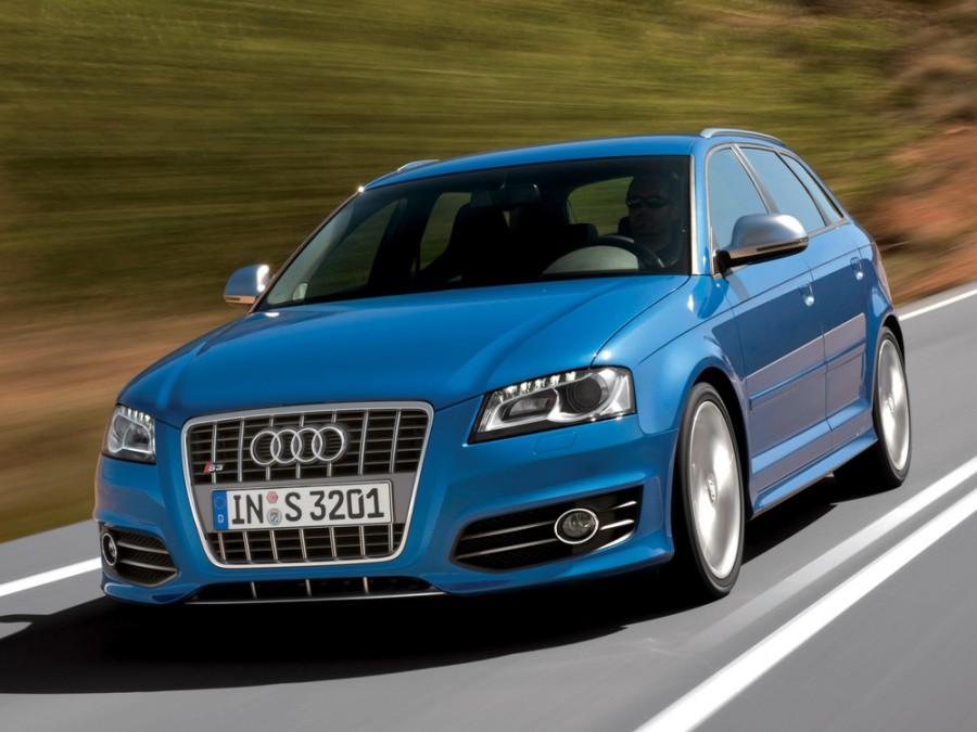 Audi S3 Sportback хетчбэк 5-дв., 2008–2012, 8P/8PA [рестайлинг] - отзывы, фото и характеристики на Car.ru
