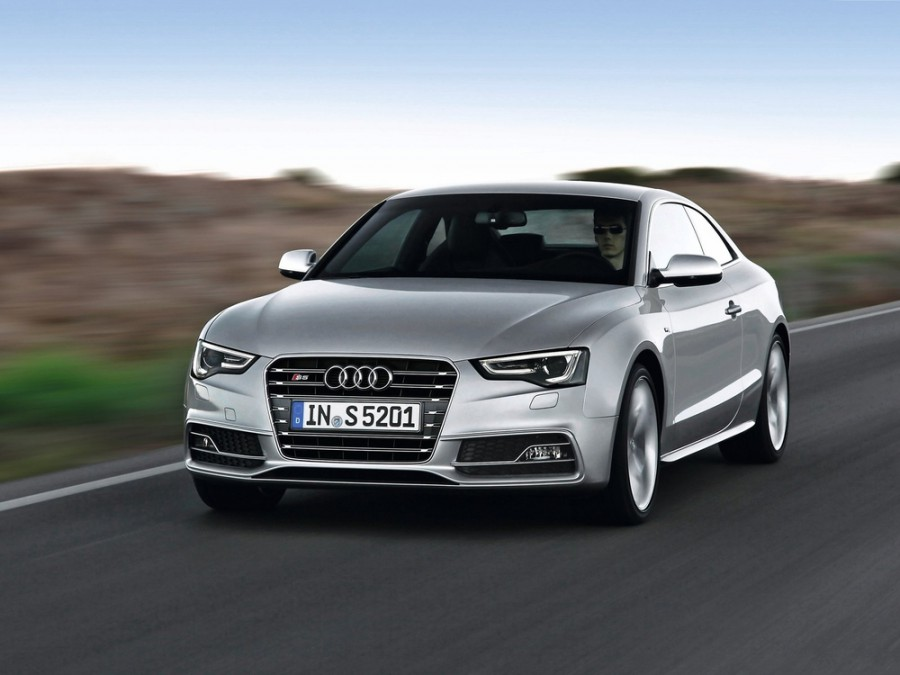 Audi S5 купе, 2012–2016, 8T [рестайлинг], 3.0 TFSI S tronic quattro (333 л.с.), Базовая, опции