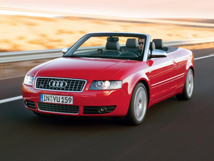 Audi S4 кабриолет, 2003–2004, B6/8H - отзывы, фото и характеристики на Car.ru