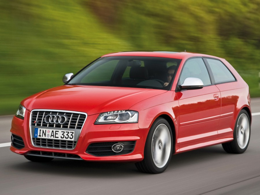Audi S3 хетчбэк 3-дв., 2008–2012, 8P/8PA [рестайлинг] - отзывы, фото и характеристики на Car.ru