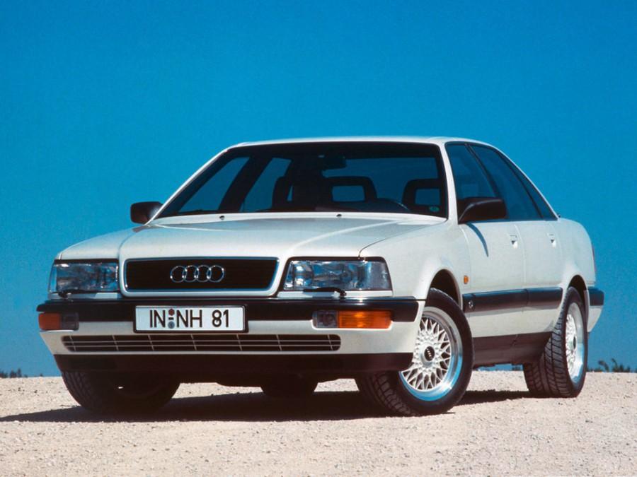Audi V8 седан, 1988–1994, 1 поколение - отзывы, фото и характеристики на Car.ru