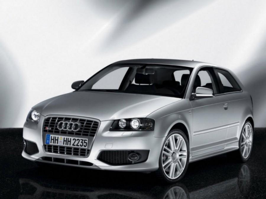 Audi S3 хетчбэк 3-дв., 2006–2008, 8P - отзывы, фото и характеристики на Car.ru