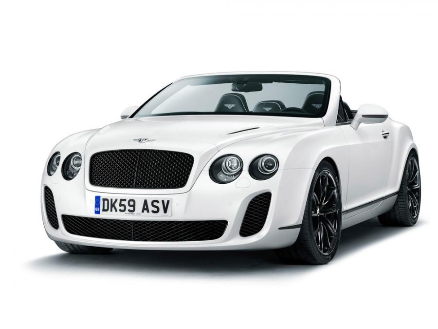 Bentley Continental Supersports Convertible кабриолет, 2010–2012, 1 поколение - отзывы, фото и характеристики на Car.ru