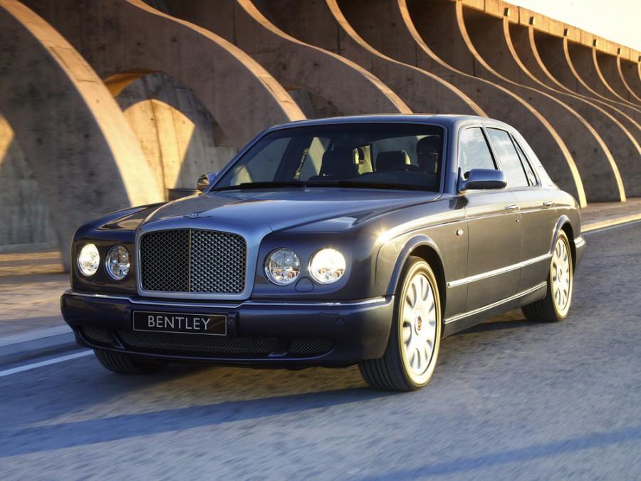 Bentley Arnage R седан 4-дв., 2002–2009, 2 поколение - отзывы, фото и характеристики на Car.ru