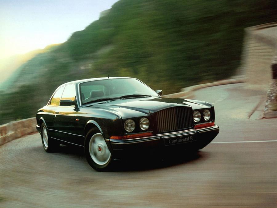 Bentley Continental R купе 2-дв., 1991–2002, 2 поколение - отзывы, фото и характеристики на Car.ru