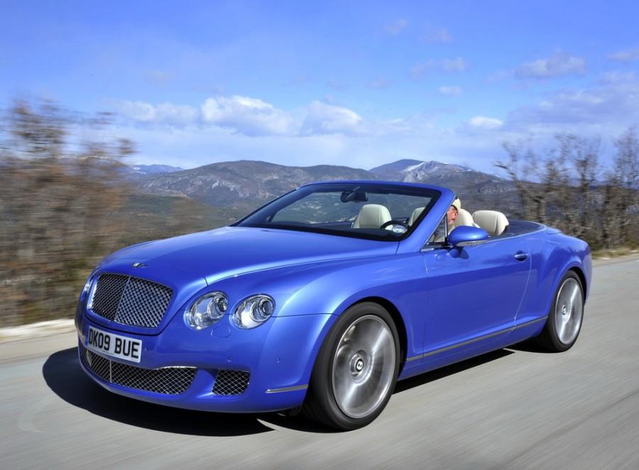Bentley Continental GTC Speed кабриолет 2-дв., 2005–2011, 1 поколение - отзывы, фото и характеристики на Car.ru