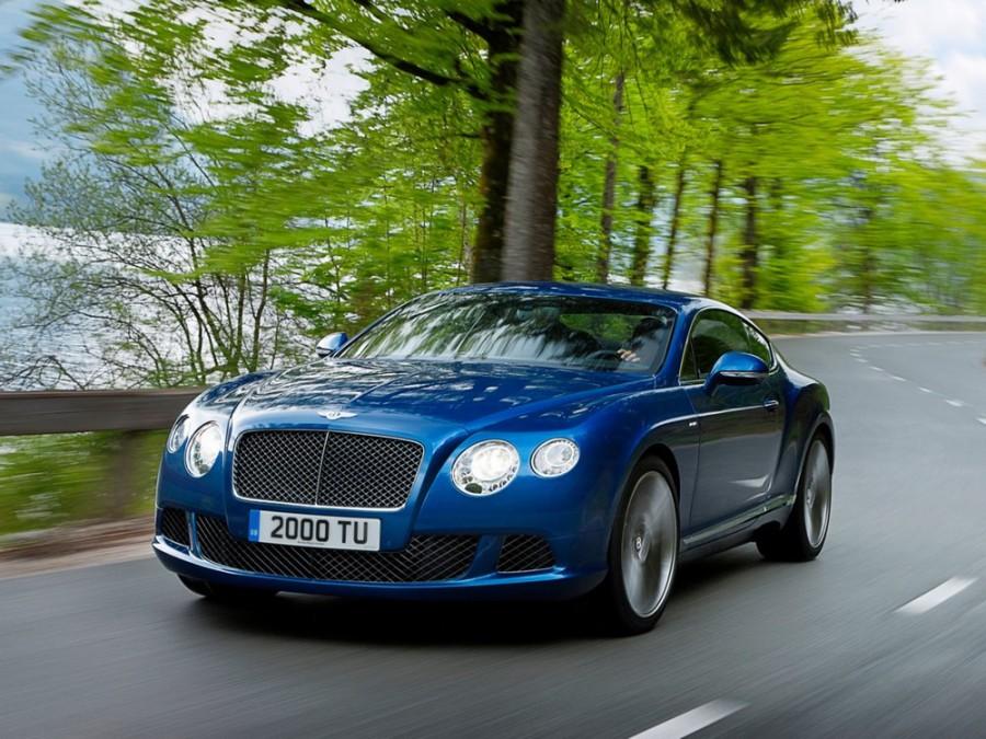 Bentley Continental GT Speed купе 2-дв., 2010–2016, 2 поколение - отзывы, фото и характеристики на Car.ru