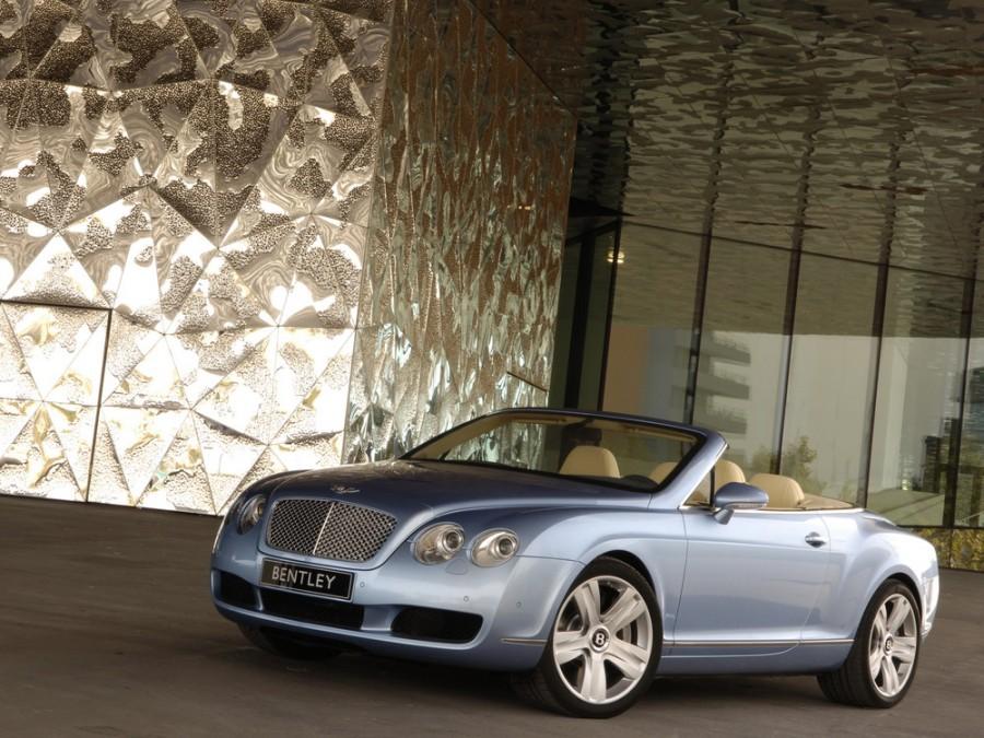 Bentley Continental GTC кабриолет 2-дв., 2005–2011, 1 поколение - отзывы, фото и характеристики на Car.ru