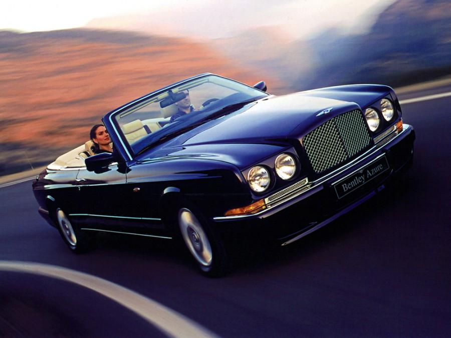 Bentley Azure кабриолет, 1995–2003, 1 поколение - отзывы, фото и характеристики на Car.ru