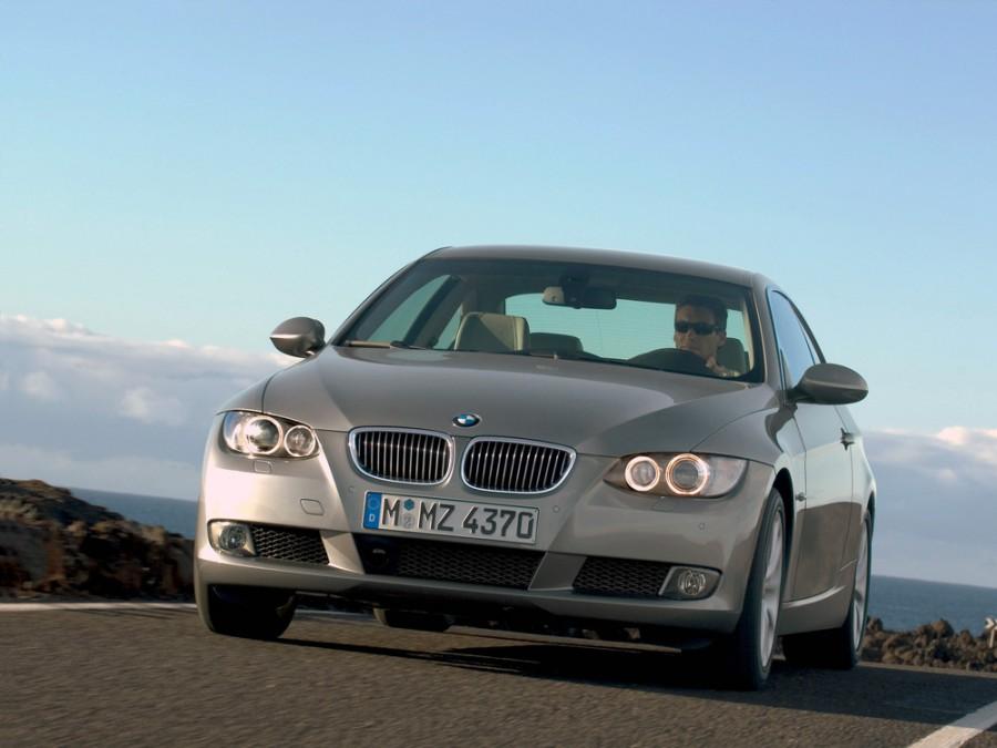 Bmw 3-series купе, 2004–2010, E90/E91/E92/E93, 325i MT (218 л.с.), характеристики