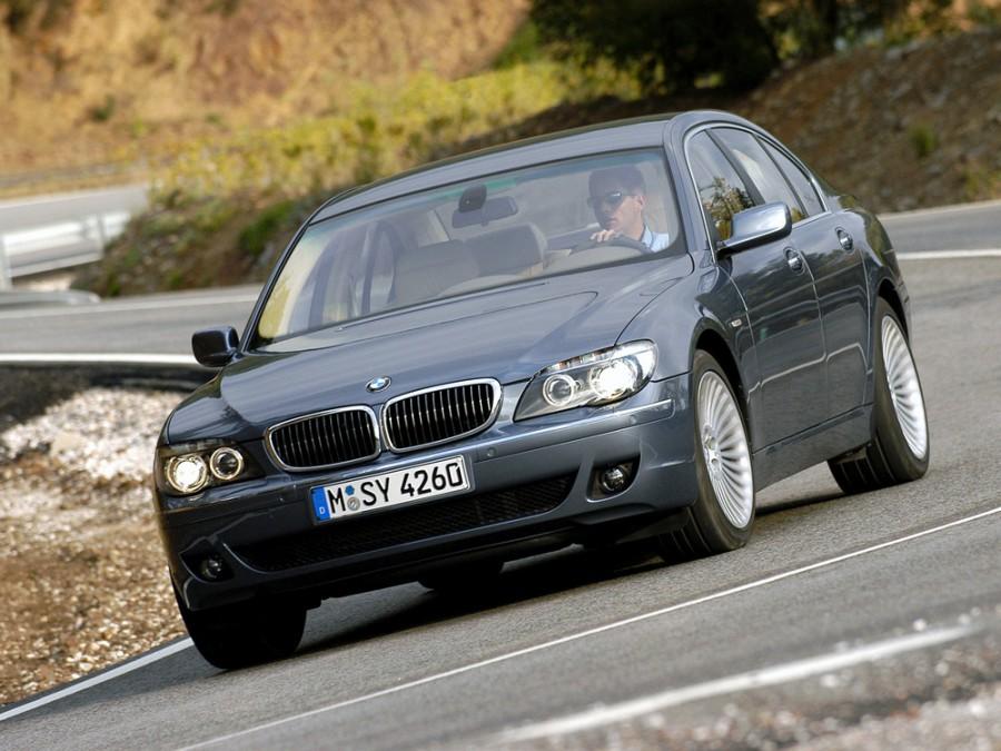 Bmw 7-series седан, 2005–2008, E65/E66 [рестайлинг], 760Li AT (445 л.с.), характеристики