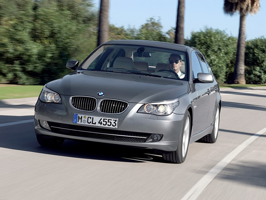 Bmw 5-series седан, 2007–2010, E60/E61 [рестайлинг] - отзывы, фото и характеристики на Car.ru