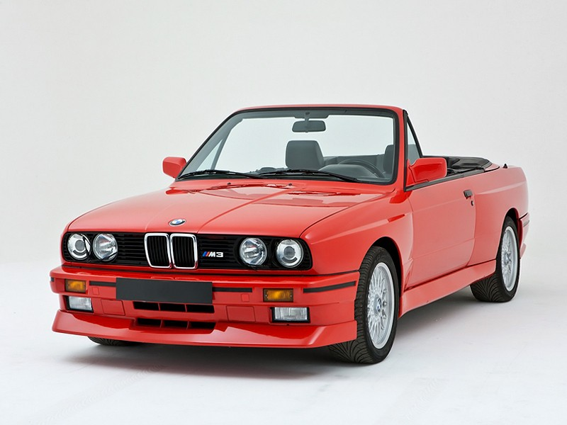 Bmw M3 кабриолет, 1986–1993, E30 - отзывы, фото и характеристики на Car.ru
