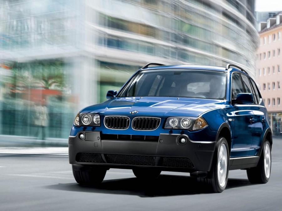 Bmw X3 кроссовер, 2003–2006, E83 - отзывы, фото и характеристики на Car.ru