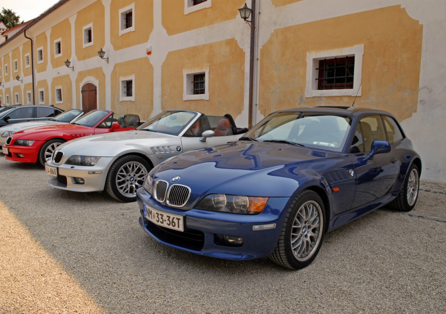 Bmw Z3 купе, 1998–2002, E36/7-E36/8 [рестайлинг] - отзывы, фото и характеристики на Car.ru