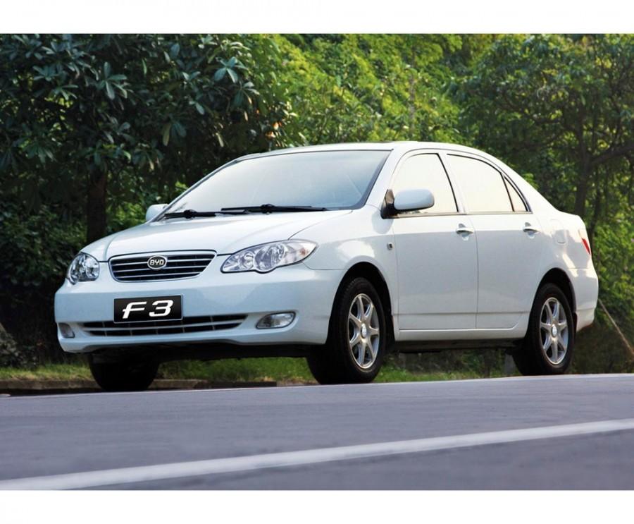 Byd F3 седан, 2005–2013, 1 поколение - отзывы, фото и характеристики на Car.ru