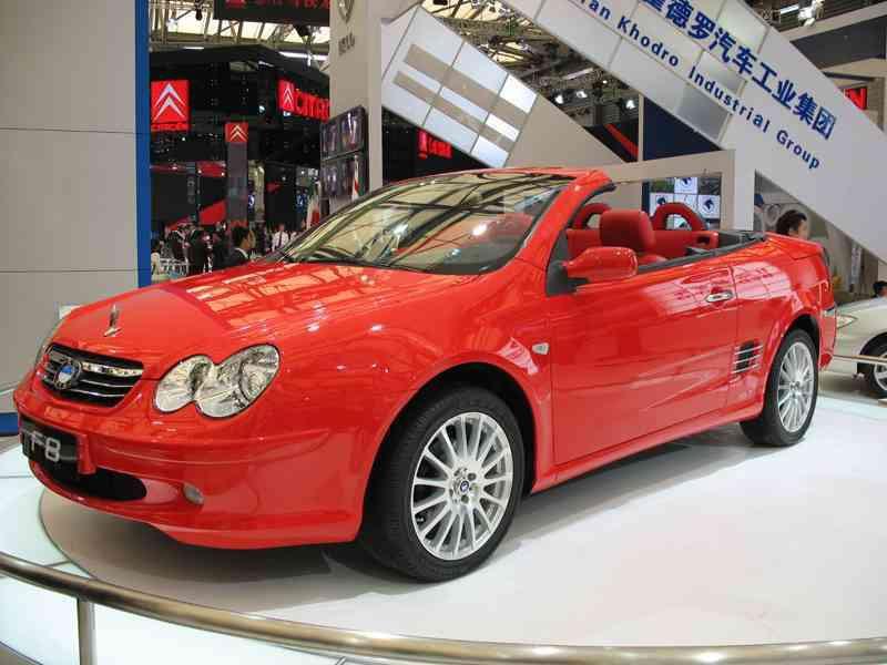 Byd F8 кабриолет, 2007–2014, 1 поколение - отзывы, фото и характеристики на Car.ru