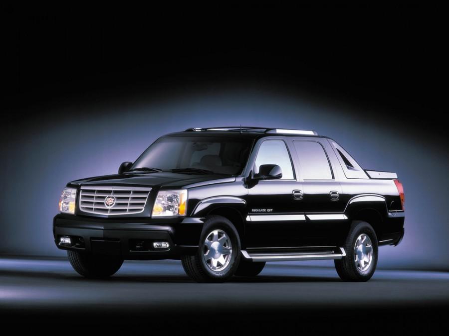 Cadillac Escalade пикап, 2002–2006, 2 поколение - отзывы, фото и характеристики на Car.ru