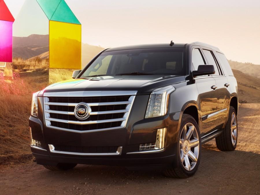 Cadillac Escalade внедорожник, 2014–2016, 4 поколение - отзывы, фото и характеристики на Car.ru