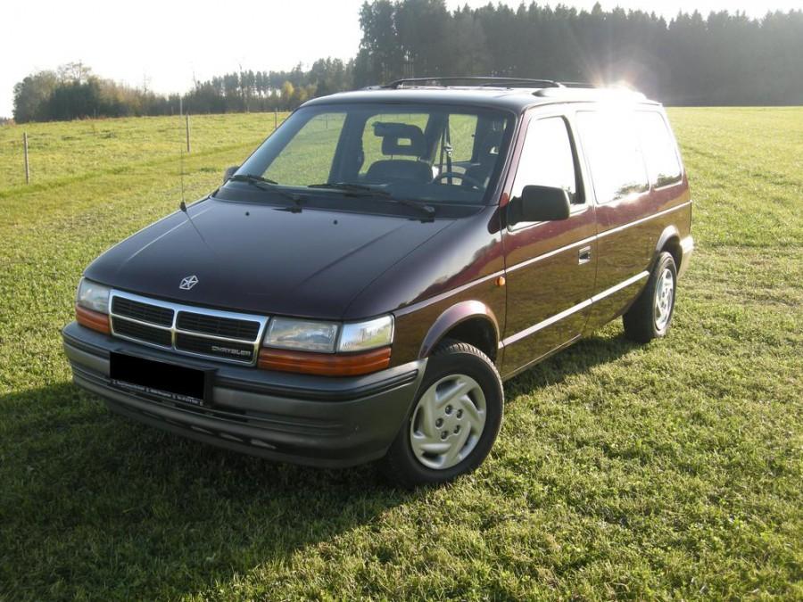 Chrysler Grand Voyager минивэн, 1991–1995, 2 поколение - отзывы, фото и характеристики на Car.ru
