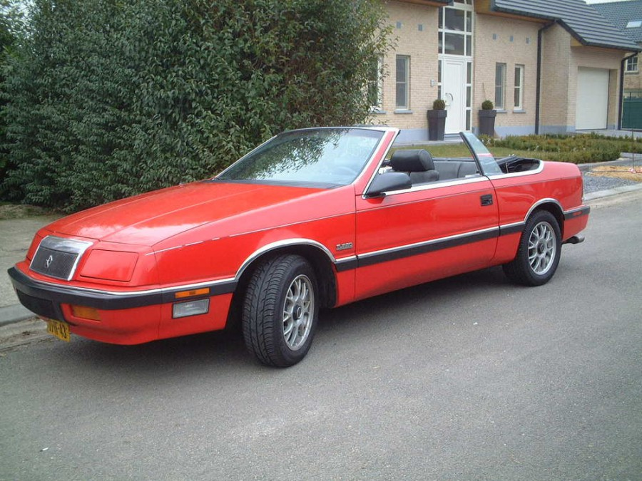 Chrysler Le Baron кабриолет, 1986–1996, 3 поколение - отзывы, фото и характеристики на Car.ru