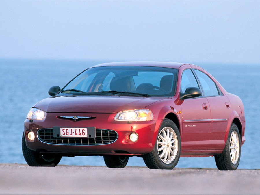 Chrysler Sebring седан, 2001–2006, 2 поколение - отзывы, фото и характеристики на Car.ru